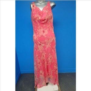 100% silk ECI New york maxi dress
